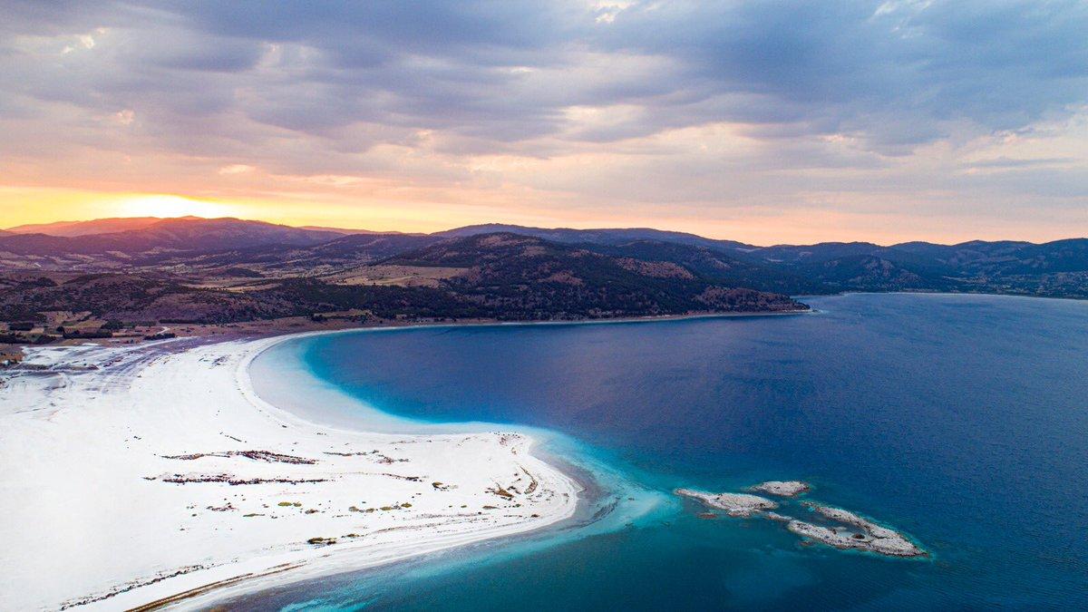 Türkiye İncilerinden Salda Gölü