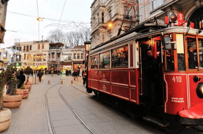 istanbul fotoğraf cekilecek yerler istiklal caddesi